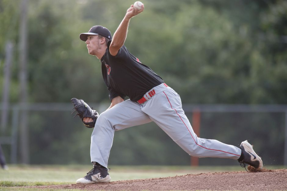 Ben Shadeck, a star player on Cheshire High's 2018 Class LL state championship team and now a pitcher at the University of New Haven, returns to Cheshire Post 92 this summer for his final year of American Legion ball.