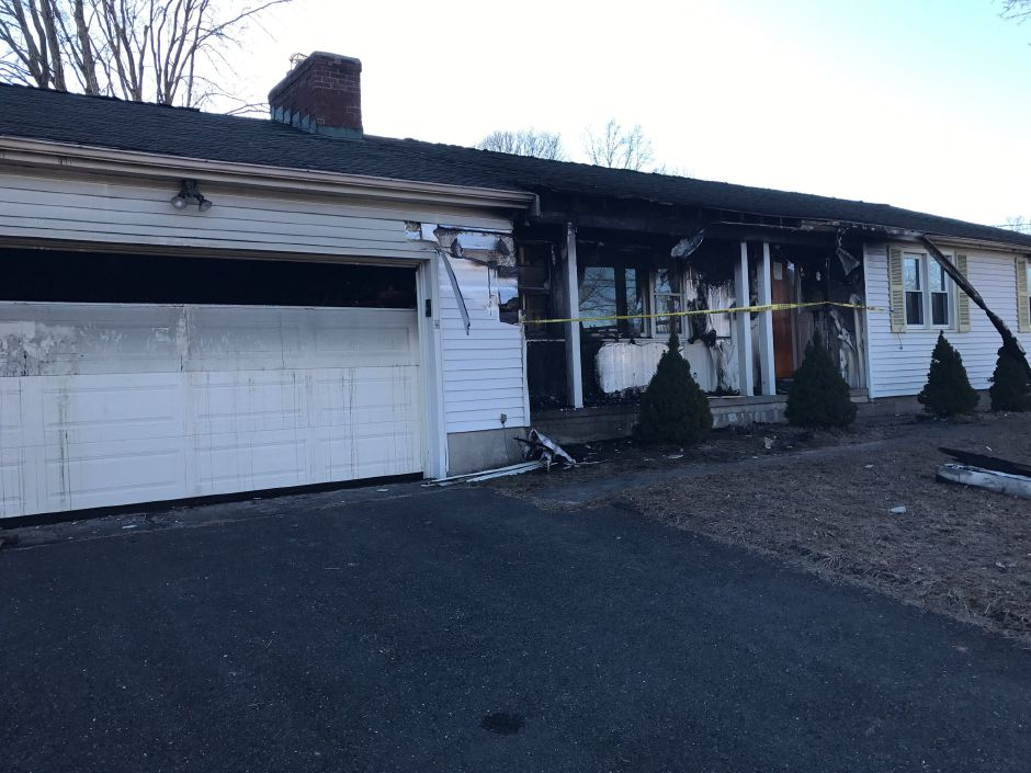 A Saturday night fire did significant damage to a house at 31 Crissey Lane in Southington.Courtesy of the Southington Fire Department