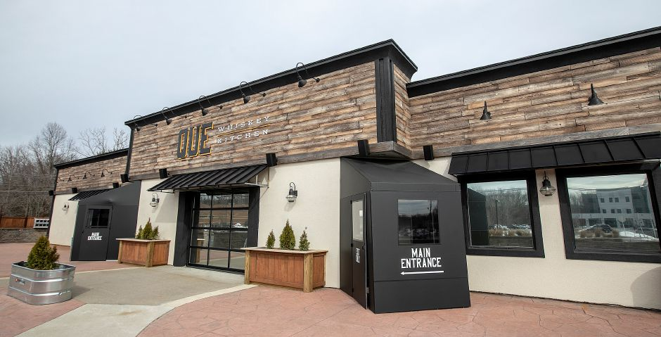 Que Whiskey Kitchen, a barbecue restaurant and whiskey bar located at 461 Queen St, Southington, Wed., Mar. 13, 2019. Dave Zajac, Record-Journal
