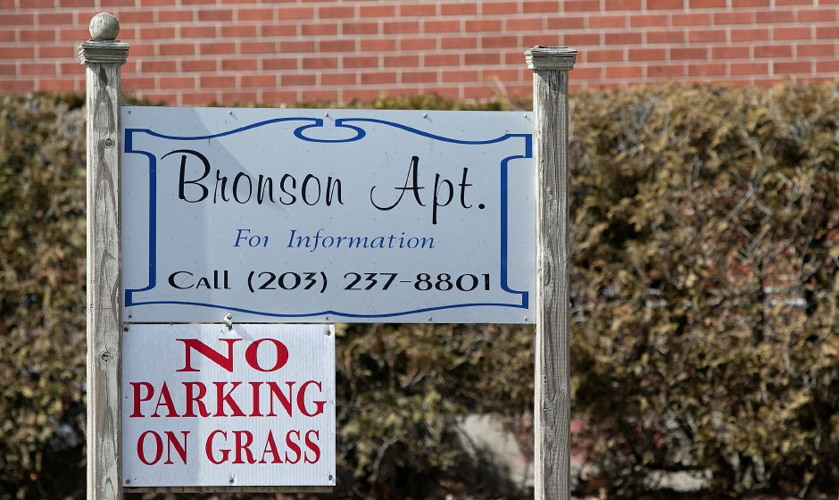 Bronson Apartments on Bronson Avenue in Meriden, Tues., Mar. 12, 2019. State and local police are investigating after car fires were intentionally set on Bronson Avenue and Hanover Street early this morning. Dave Zajac, Record-Journal