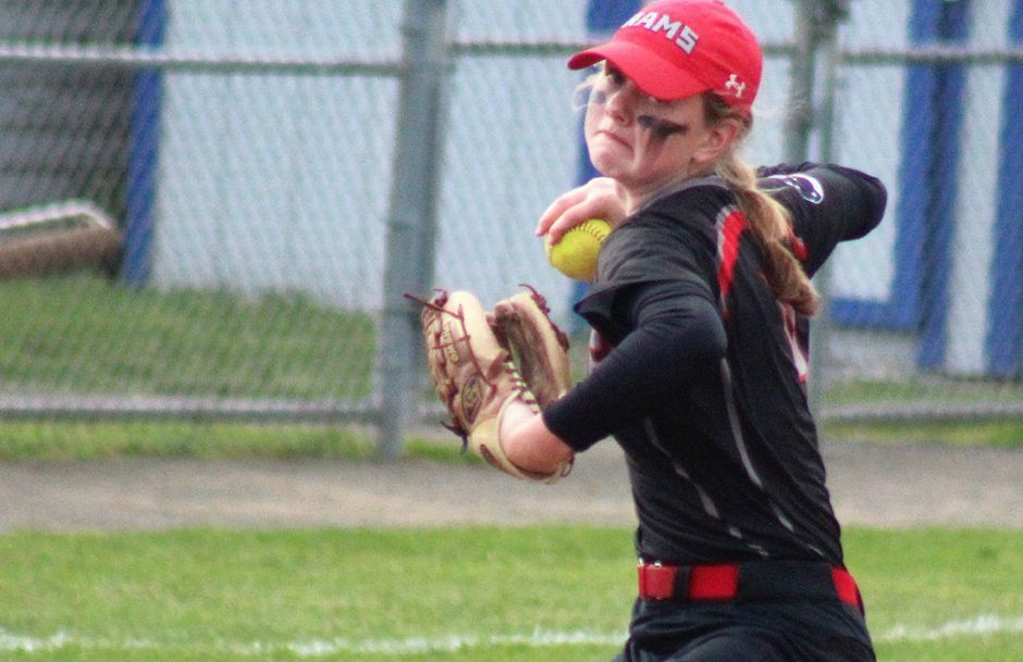 Mia Juodaitis homered and drove in five runs in the Cheshire softball team's 13-0 second-round Class LL state tournament win Thursday over Glastonbury.