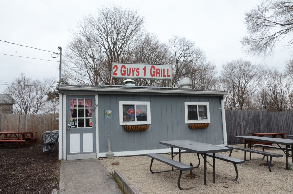 2 Guys One Grill restaurant located on 32 N Turnpike Rd, Wallingford, Conn. on April 9th, 2019. | Maxine Philavong, Special to the Record Journal.