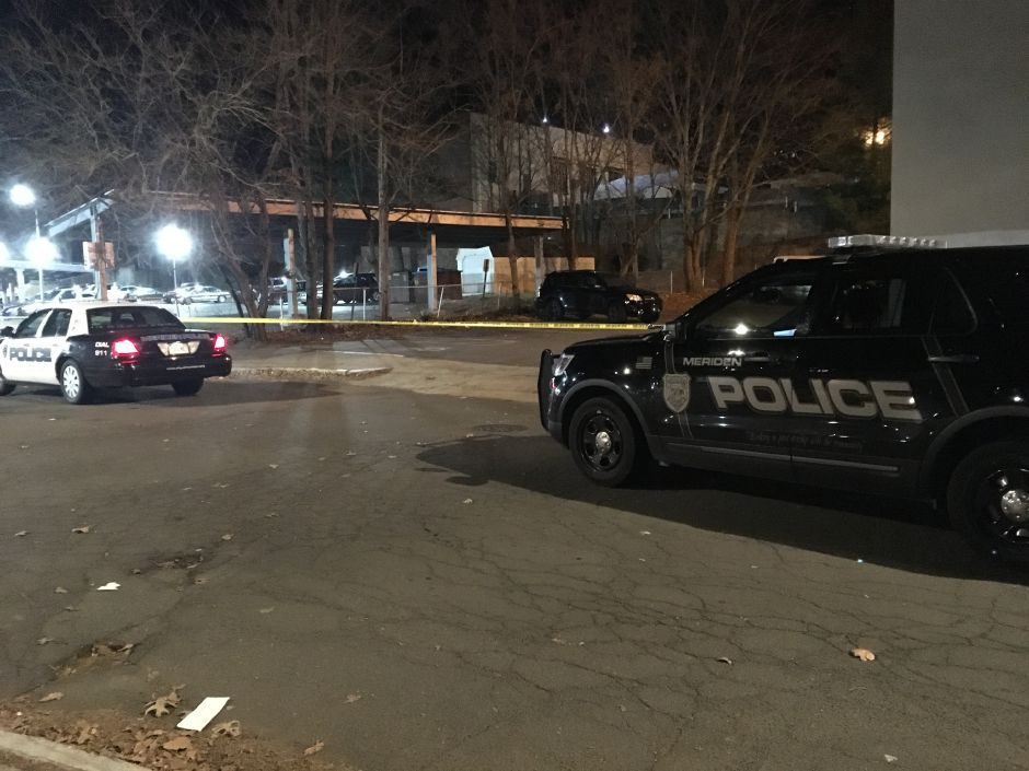 Police investigate a stabbing on St. Casimer Drive in Meriden Friday. | Ryan Chichester, Record-Journal