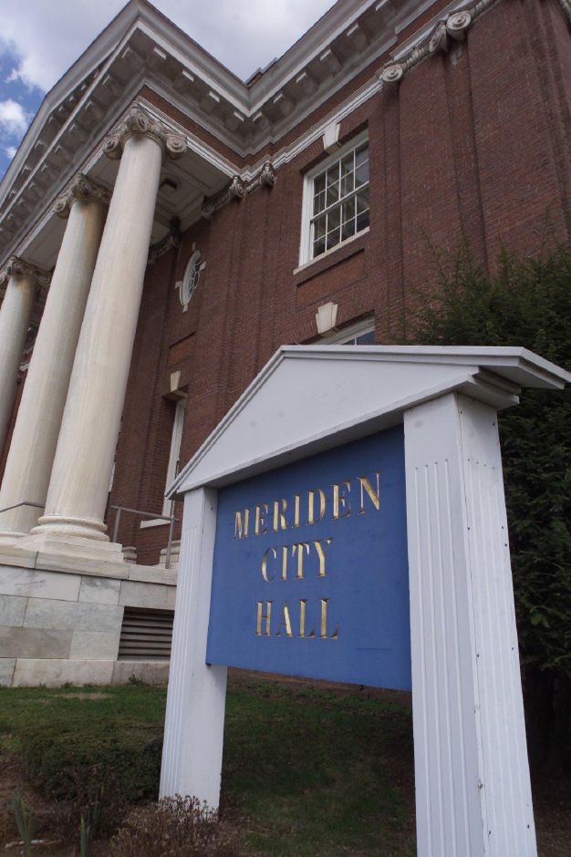 Meriden City Hall, Fri., April 13.