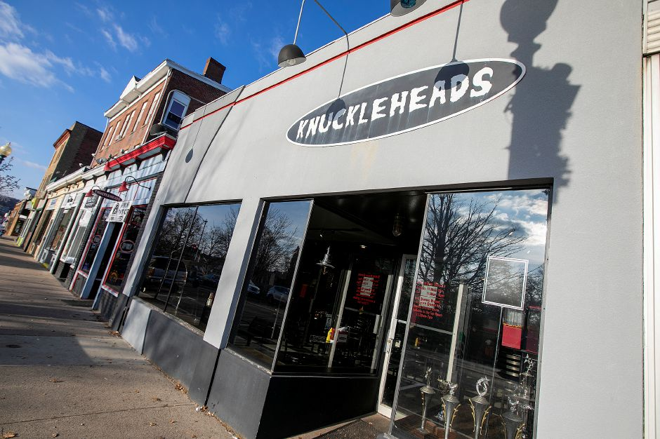 Knuckleheads, 80 Center St., Wallingford, Wednesday, Dec. 12, 2018. Dave Zajac, Record-Journal