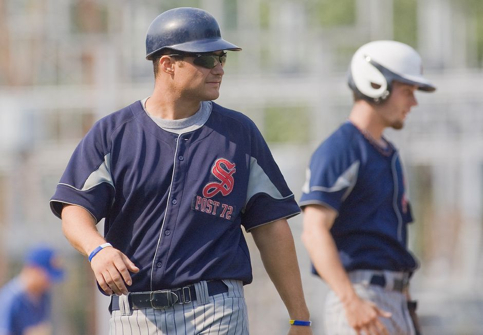 Head coach Marc Verderame and Southington Post 72 head into the 2019 American Legion baseball season as defending state champions. | Dave Zajac / Record-Journal