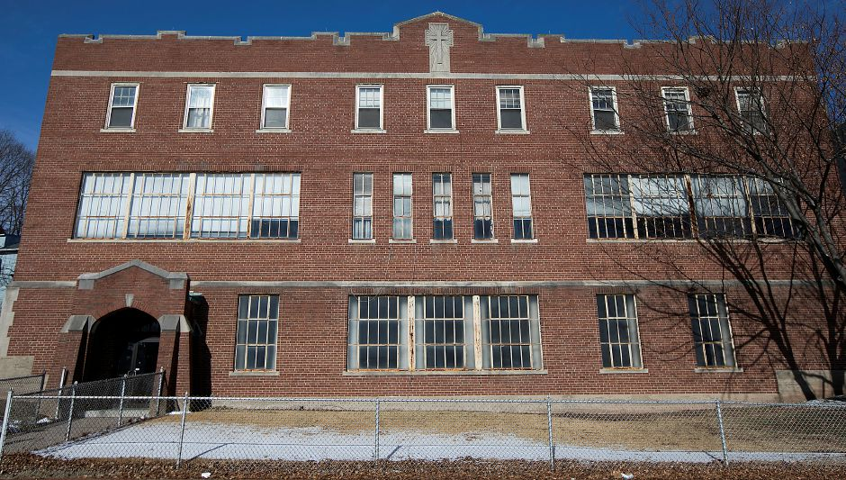 The former St. Mary School on Church Street in Meriden, Wednesday, Jan. 31, 2018. The building is for sale. Dave Zajac, Record-Journal