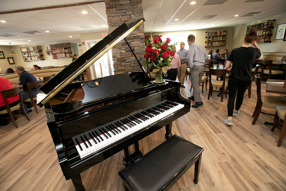 A new piano at the new Huxley