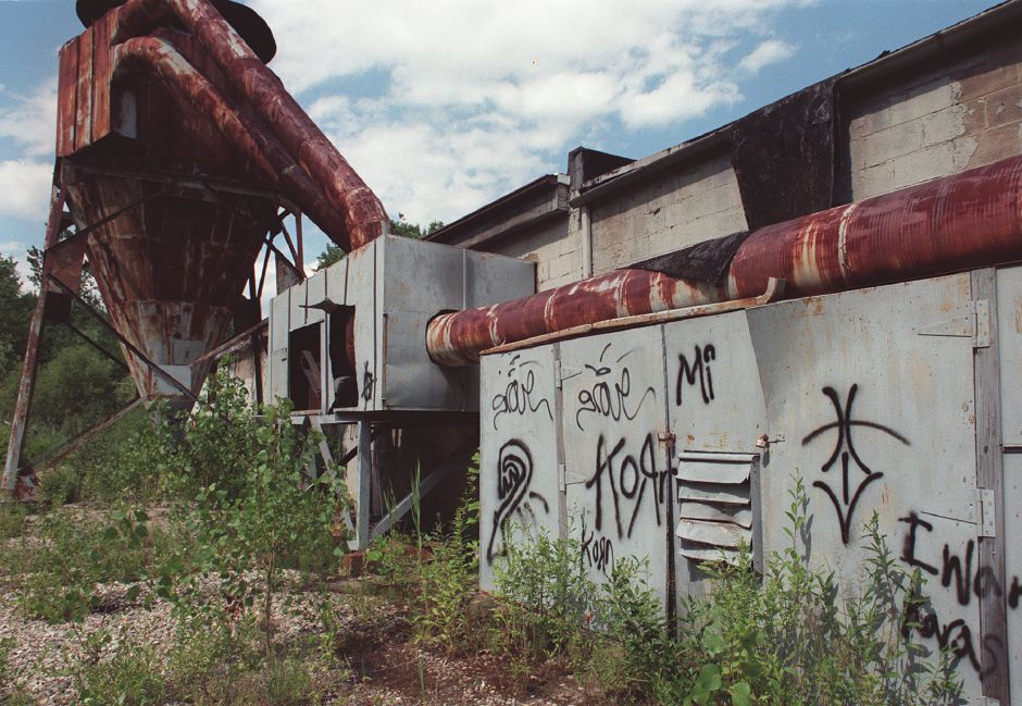 The former Goldfeder Silver Plating Co. on 125 Grove St., a residential area of Yalesville, is an environmental threat because it contains chemicals, July 1999 .