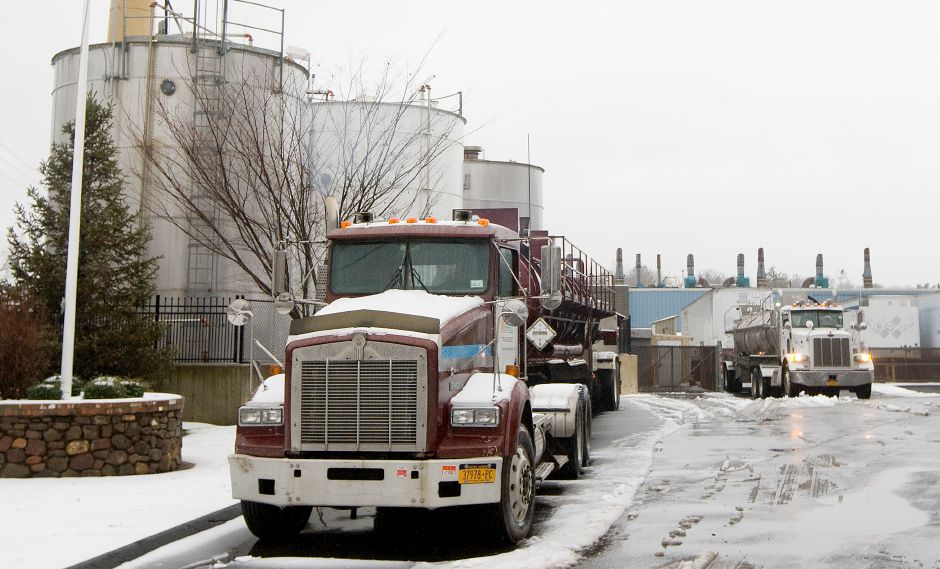 Tradebe, an international waste reclamation and recycling solutions company on Gracey Avenue in Meriden, Tuesday, January 24, 2017. Several existing businesses in the city are looking to expand, while other new businesses are close to opening or continuing to make progress. | Dave Zajac, Record-Journal