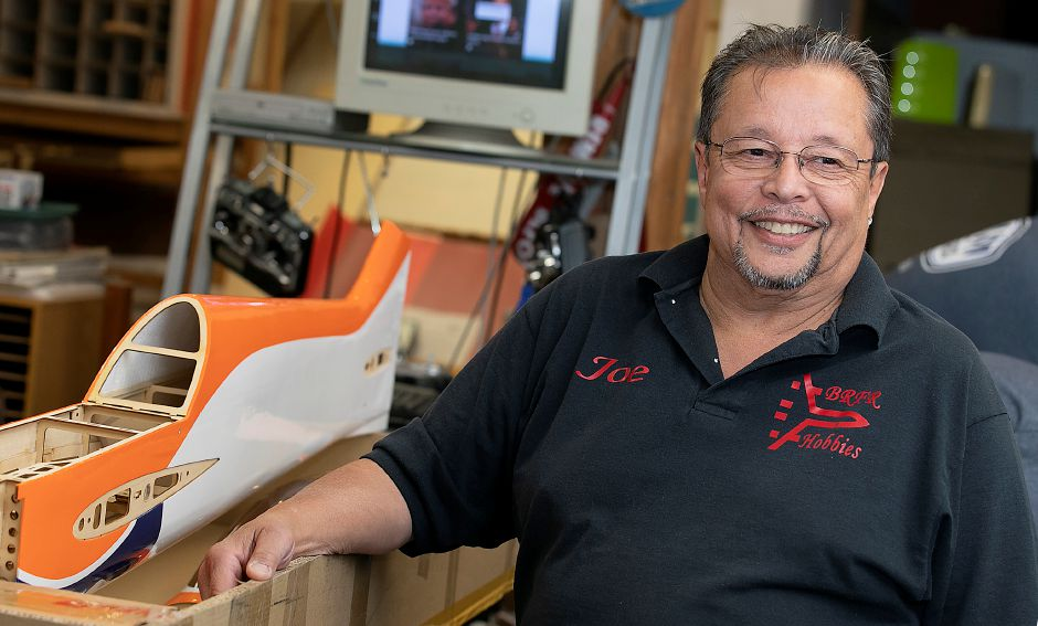 Joe Acosta, owner of Build Right Fly Right Hobbies at 342 Quinnipiac St. in Wallingford, is retiring and closing his shop after 25 years, Tues., Oct. 15, 2019. Dave Zajac, Record-Journal