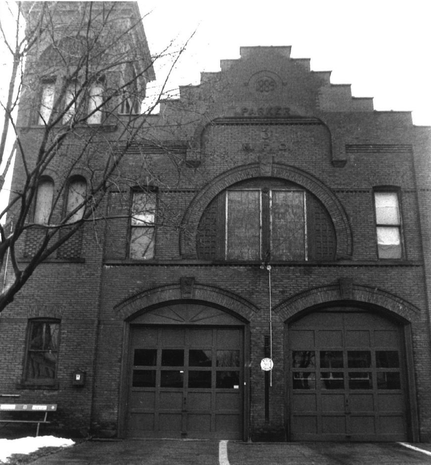 The Broad Street firehouse.