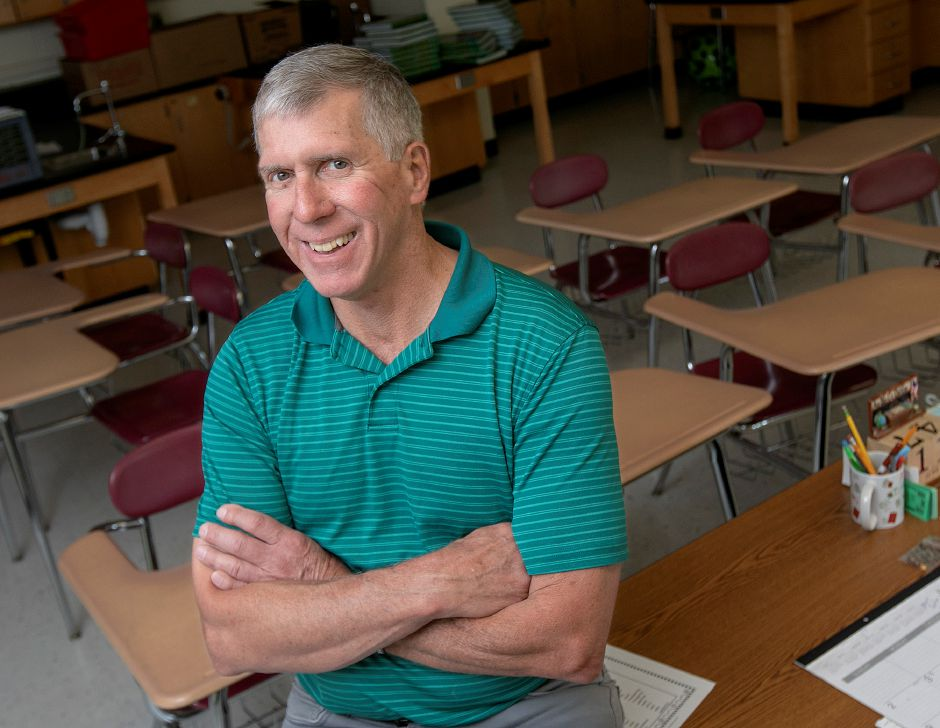 Longtime teacher Jack Hull is retiring from Dag Hammarskjold Middle School in Wallingford. Hull has been teaching for 42 years, 30 of them at Dag. Dave Zajac, Record-Journal