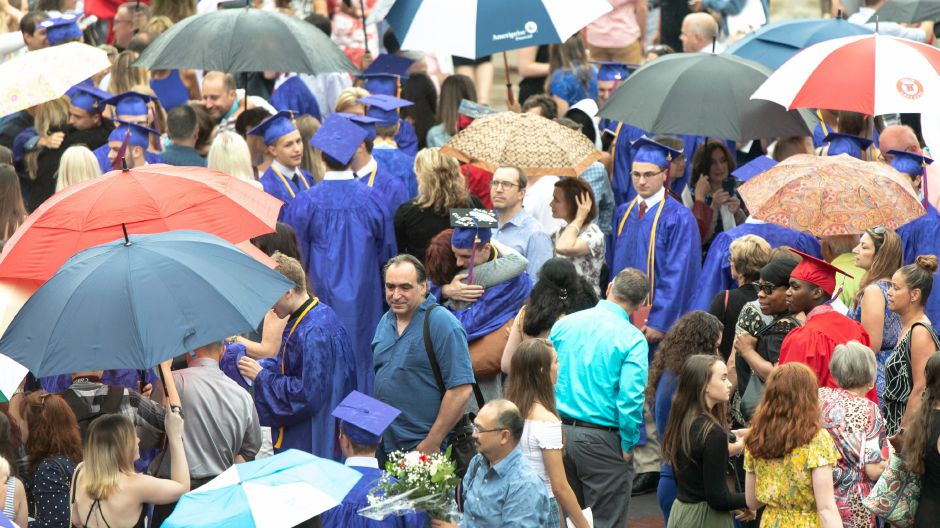 The Berlin High School graduation cermony was held at Central Connecticut State University on June 16, 2019. | Devin Leith-Yessian/Record-Journal