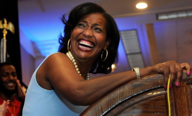 Jahana Hayes, Democratic candidate for Connecticut