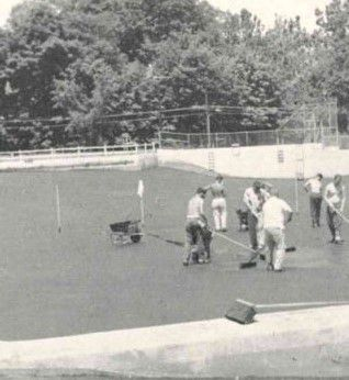 The Wallingford Community Pool, circa 1958.