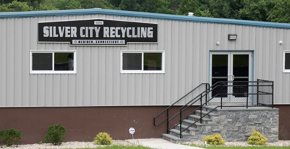 Silver City Recycling, 828 Old Colony Rd., Meriden, Mon., Jul. 6, 2020. Dave Zajac, Record-Journal