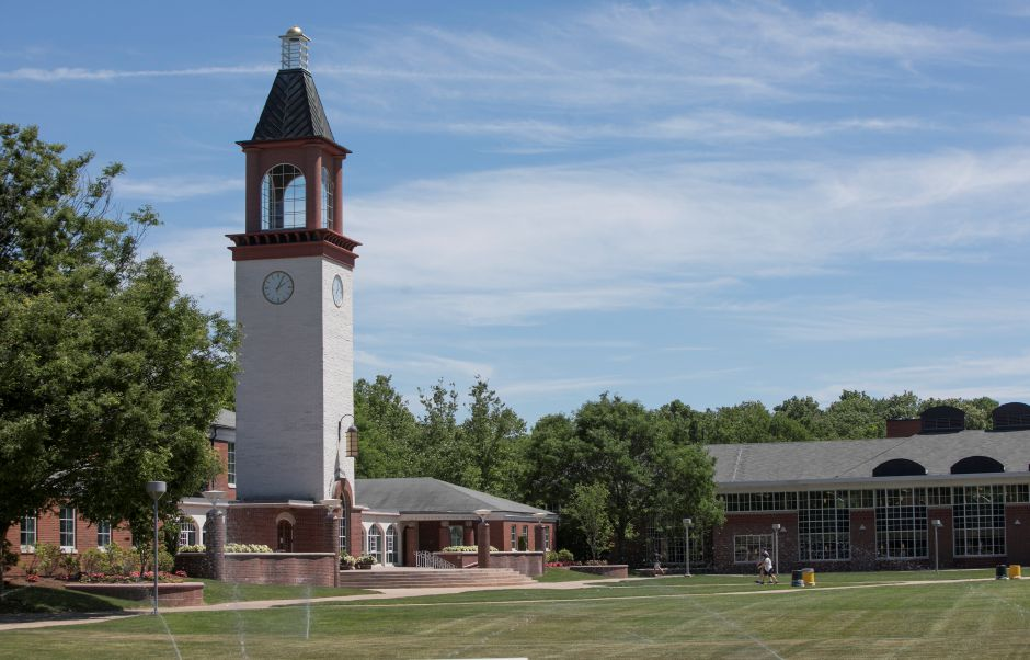 Quinnipiac University in Hamden may host a vaccination clinic as area colleges and universities look to boost the percentage of students and staff inoculated against COVID-19. | File photo