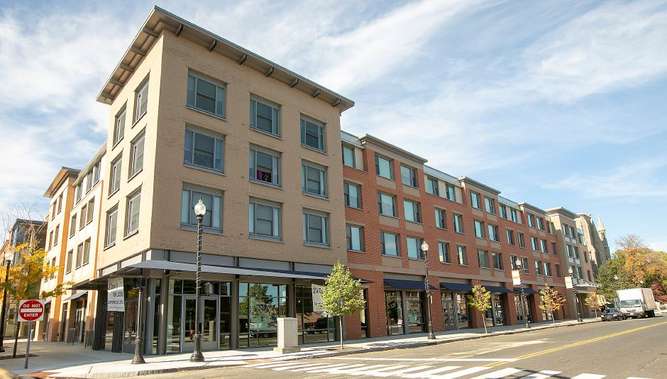 24 Colony Street apartments and retail space are seen Tuesday in downtown Meriden. Dave Zajac, Record-Journal