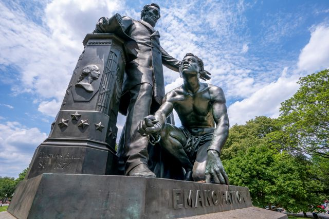 The Emancipation Memorial in Washington