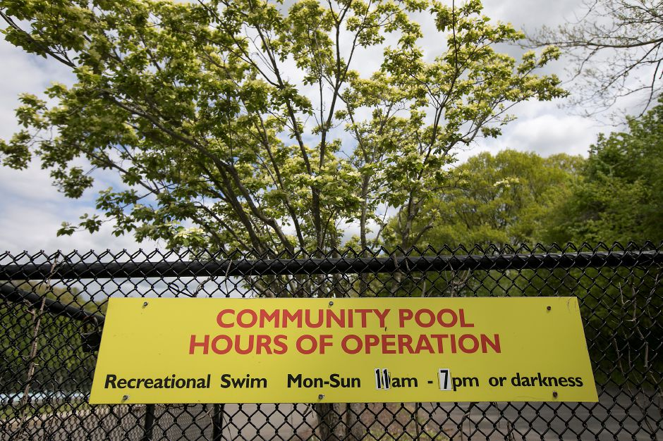 The Wallingford Community Pool on North Main Street Ext., Thursday, May 11, 2017. | Dave Zajac, Record-Journal