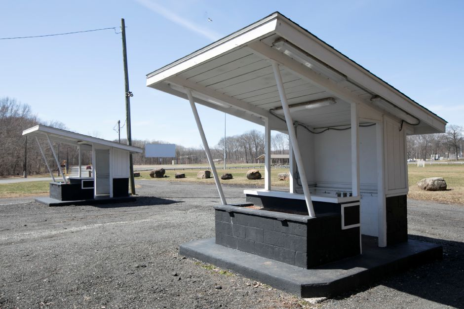 Ticket booths at the Southington Drive-In on Meriden-Waterbury Turnpike in Southington, Monday, April 9, 2018. Dave Zajac, Record-Journal