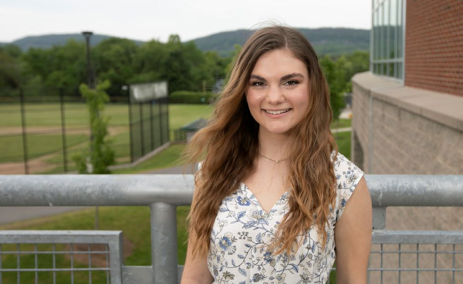 Annelise Montuori, 17, is the valedictorian for Maloney High School
