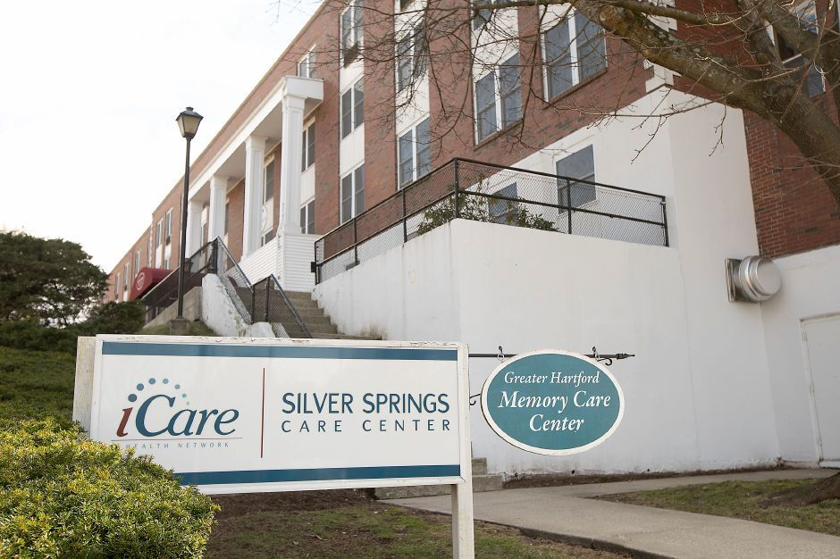 Silver Springs Care Center, 33 Roy St., Meriden, Wed., Apr. 1, 2020. Dave Zajac, Record-Journal