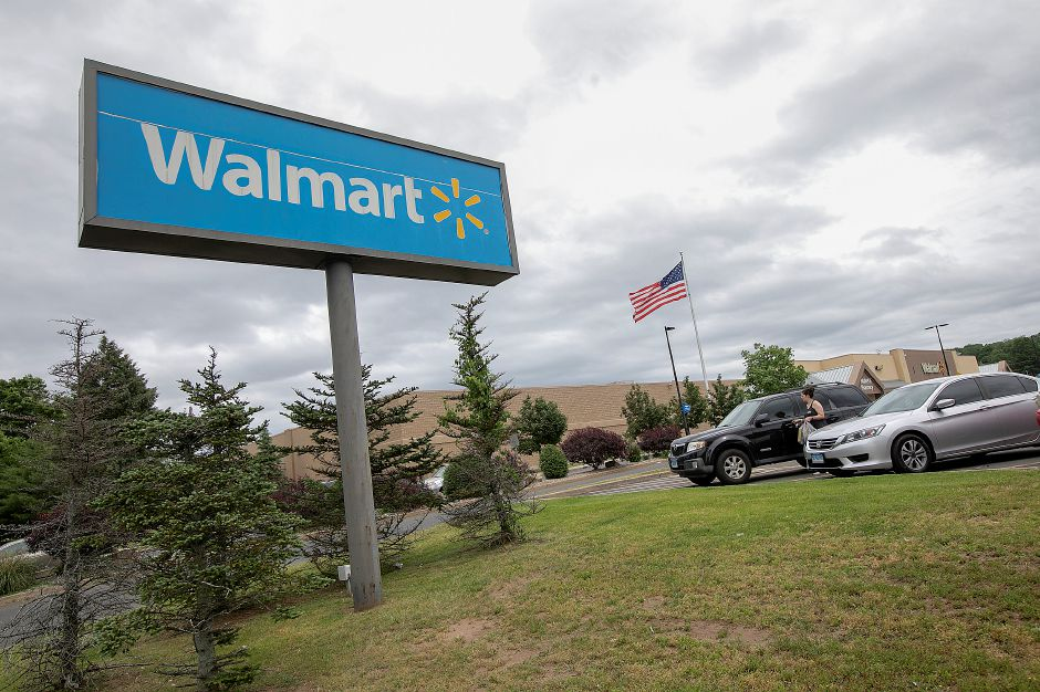 Walmart on Route 5 in Wallingford, Mon., June 10, 2019. Dave Zajac, Record-Journal