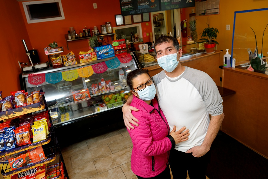 Jorge Rendon and Magdalena Alberto are the owners of Frida Restaurant and Grocery at 151 Lewis Ave. in Meriden. Photos by Dave Zajac, Record-Journal