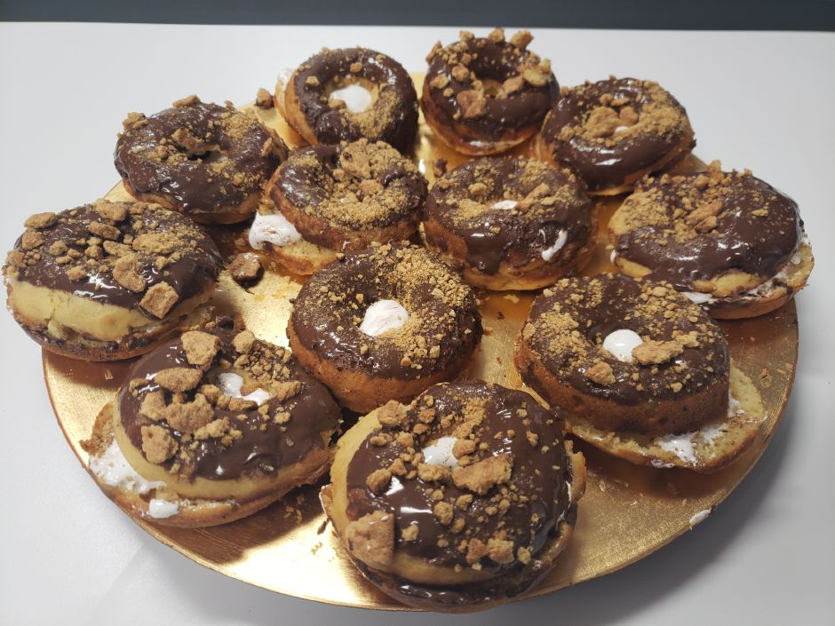 Baked Smore's Donuts (Lauren Sellew | Record-Journal)