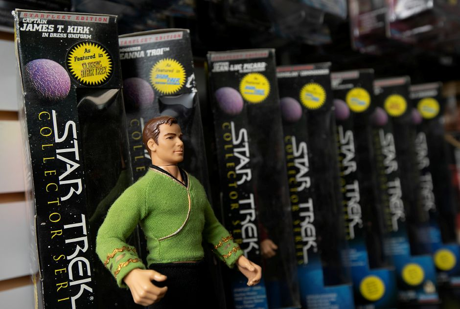 Captain Kirk from the Star Trek collector series at This Toy Life, a new business at 169 Center St. in Wallingford, Tues., May 26, 2020. Dave Zajac, Record-Journal