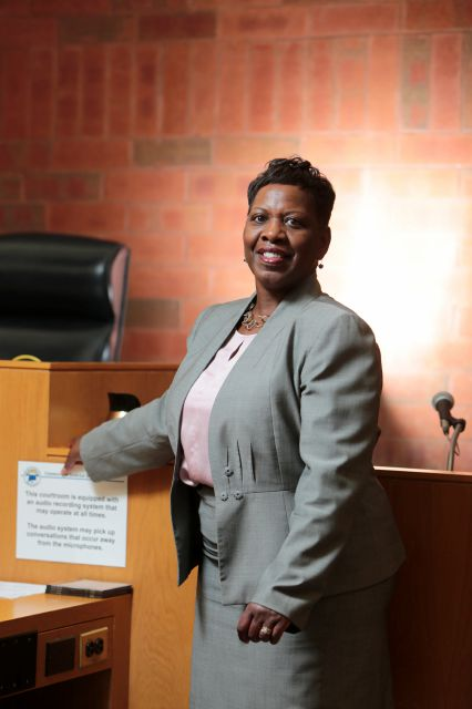 "Hartford State's Attorney Gail P. Hardy will take a new job fostering ""diversity and inclusion in the Division of Criminal Justice."" File photo. (Michael McAndrews/Hartford Courant via AP)"