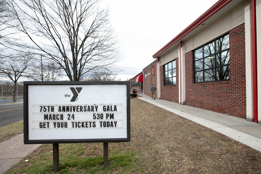 The east side YMCA in Wallingford, Mon. Jan. 27, 2020. Dave Zajac, Record-Journal