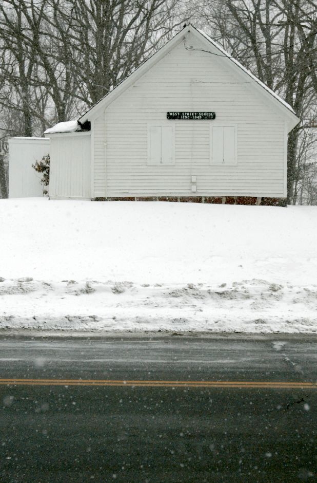A view of the schoolhouse from the street. File photo, Record-Journal