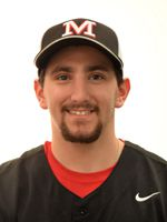 Wallingford native Peter Abate, a senior second baseman, was named Second-Team All-Conference at Mitchell College. | Photo courtesy of Mitchell College.