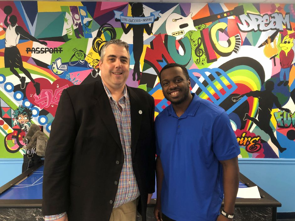 Don Crouch, Resource Development and Marketing Coordinator and Christopher Bacote, Program Coordinator. Wallingford Ulbrich Boys and Girls Club, 72 Grand St., Wallingford. |Kristen Dearborn, special to Record-Journal