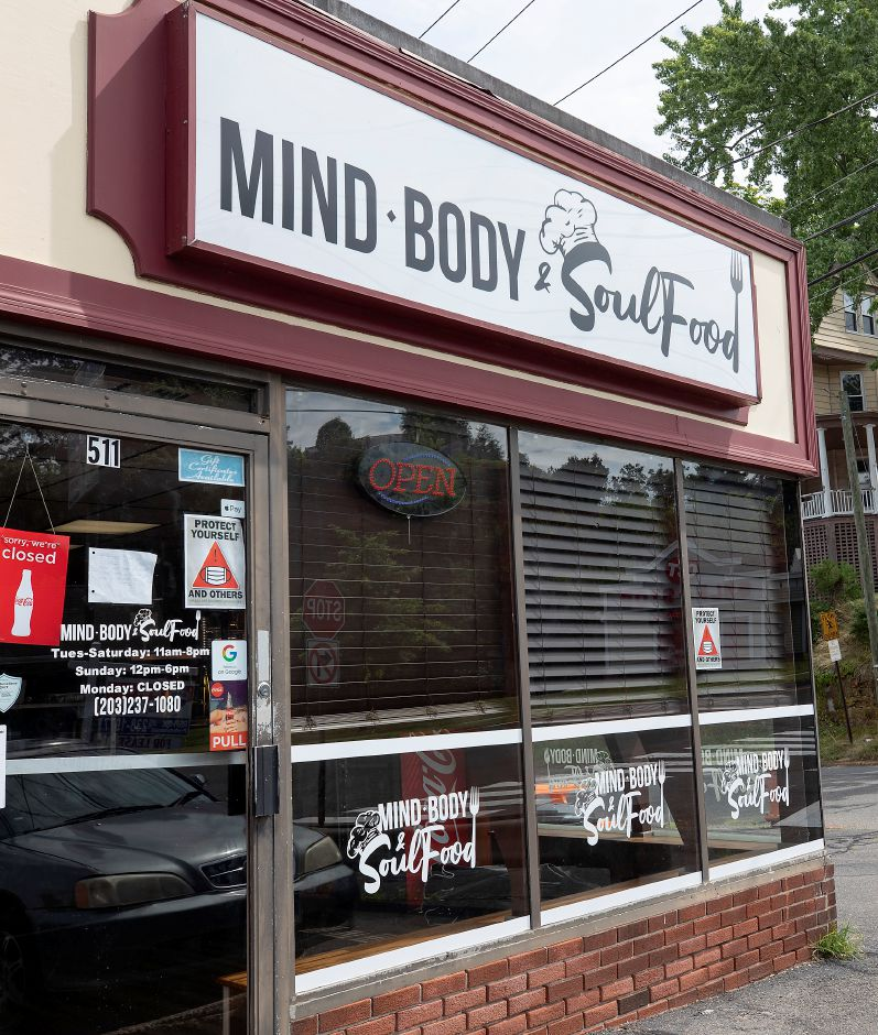 Mind, Body & Soul Food, 511 W. Main St., Meriden, Fri., Jul. 24, 2020. Dave Zajac, Record-Journal