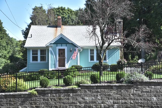 Constructed in 1936, the Cape Cod style home at 412 West Main Street in Cheshire was listed on the market on Sept. 5, 2019. | Image courtesy of Cheri Paulsen with the Coldwell Banker Residential Brokerage