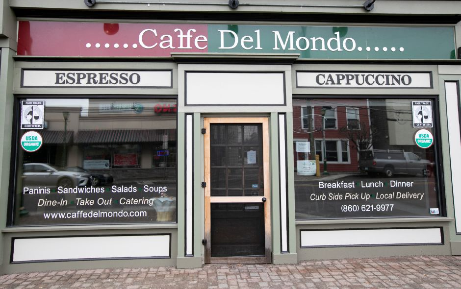 Caffe Del Mondo, 51 N. Main St. in Southington, Thurs. Feb. 7, 2019. Dave Zajac, Record-Journal