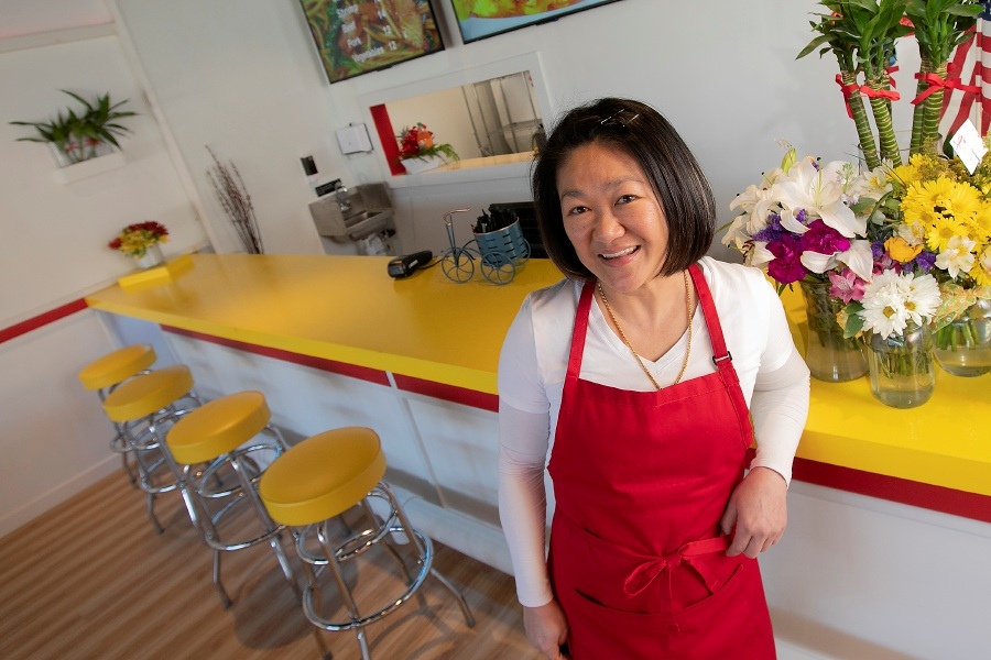 Cais Yee Tran, owner of Coji Kitchen, a new restaurant at 1230 Queen St. in Southington, Thurs., Jan. 16, 2020. Dave Zajac, Record-Journal