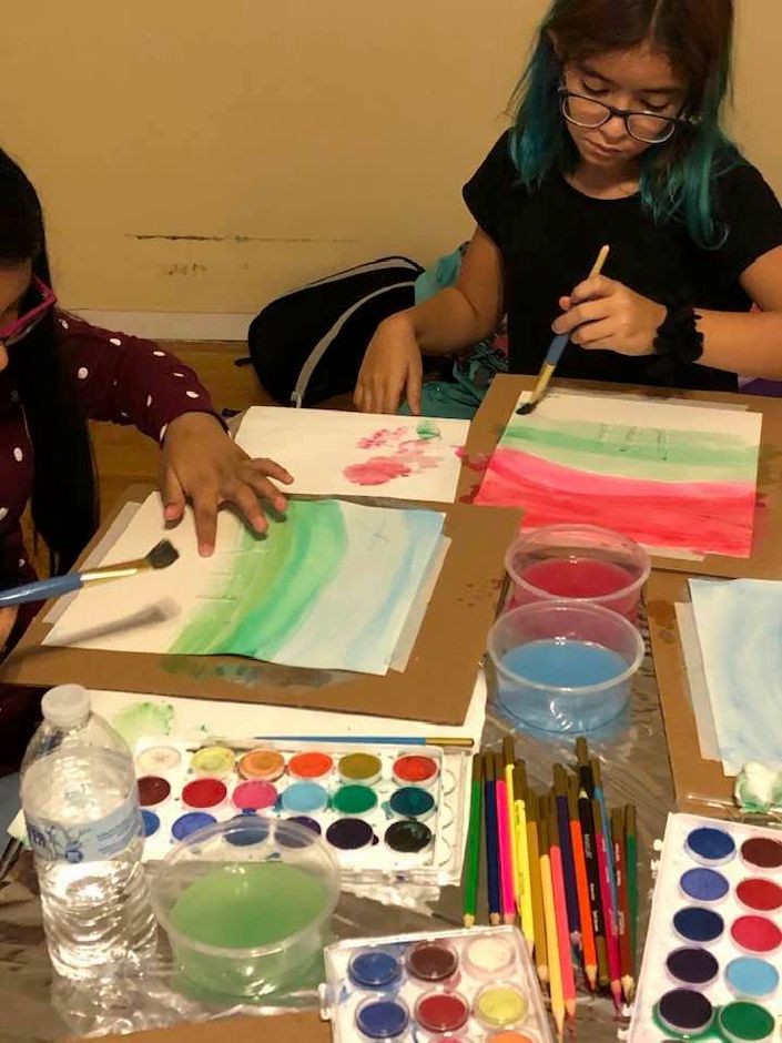 Our House Meriden is a nonprofit organization that provides afterschool art programs for local children. The program is located at the childhood home of the founder Catherine Del Buono at 17 North St. CT. Photo Courtesy of Catherine Del Buono.
