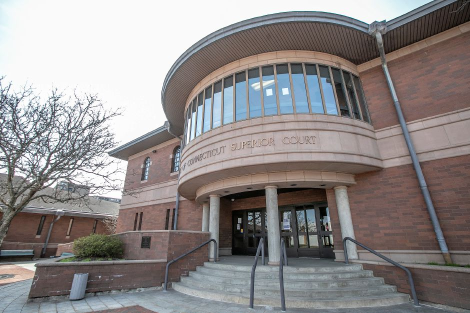 State of Connecticut Supreme Court in Meriden, Wed., Mar. 18, 2020. In an increased mitigation plan, the limited number of cases being heard at Meriden Superior Court will now be heard in New Haven Superior Court, starting Thursday. Dave Zajac, Record-Journal
