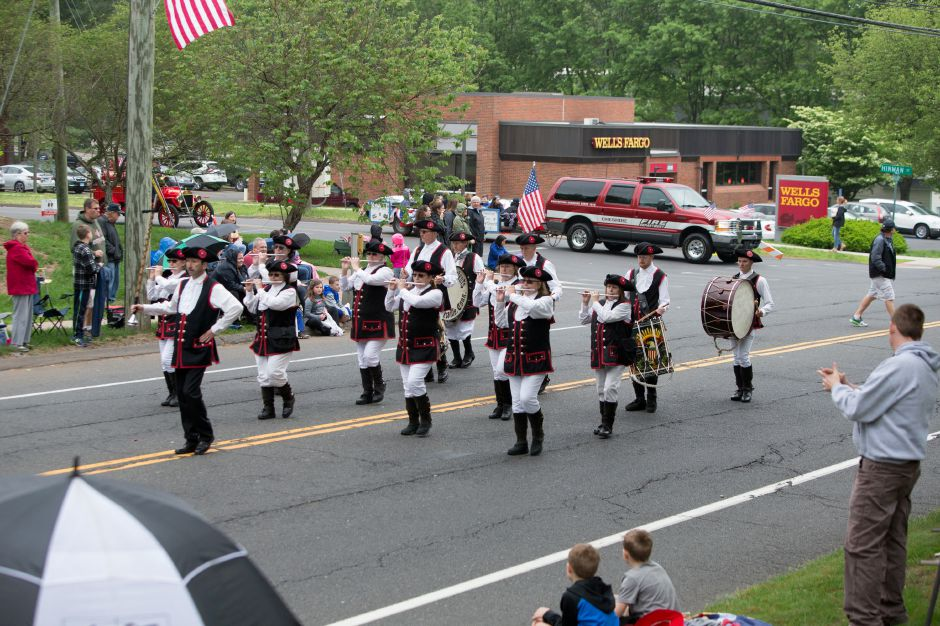 Sunday during the Cheshire Memorial Day Parade in Cheshire May 27, 2018 | Justin Weekes / Special to the Record-Journal