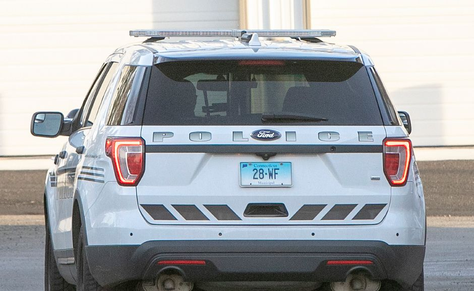 A Wallingford police vehicle at the Wallingford Police Dept., Mon., Jan. 7, 2019. Dave Zajac, Record-Journal