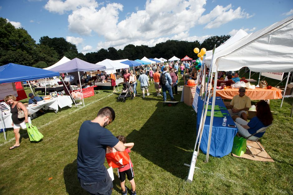 The Cheshire Fall Festival in Bartlem Park in 2018. File photo,  Record-Journal