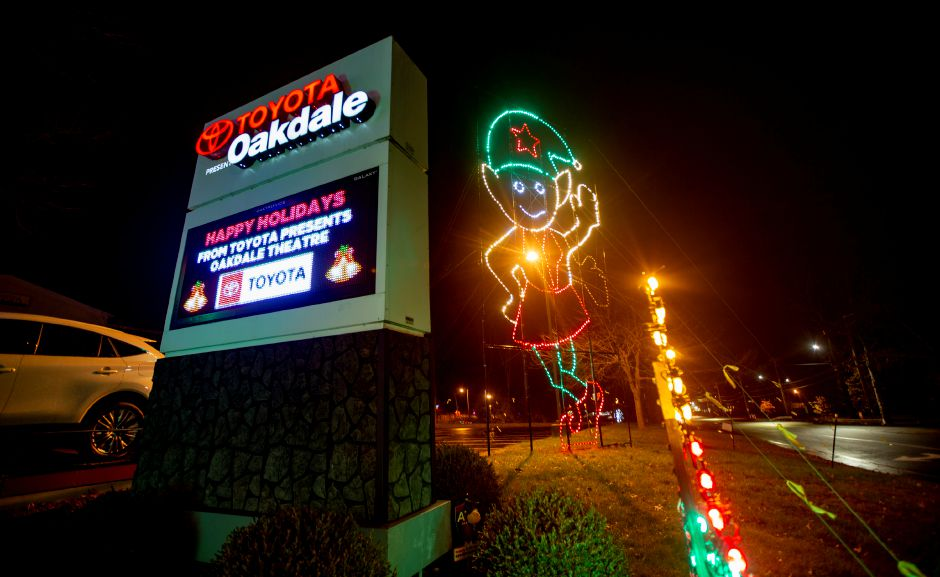 The Oakdale Theatre in Wallingford hosted a drive-through attraction the Magic of Lights Nov. 13 through Jan. 2. | Richie Rathsack, Record-Journal