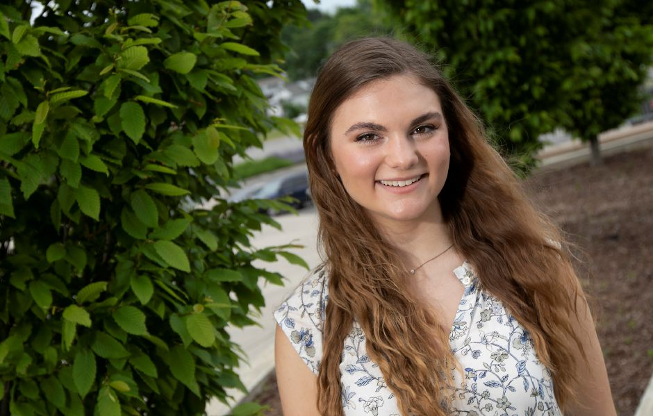 Annelise Montuori, 17, is the valedictorian for Maloney High School's Class of 2020.