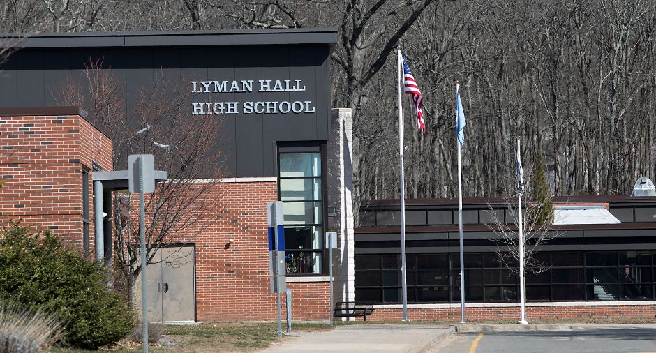 FILE: Lyman Hall High School, Monday afternoon, Monday, March 26, 2018. Dave Zajac, Record-Journal